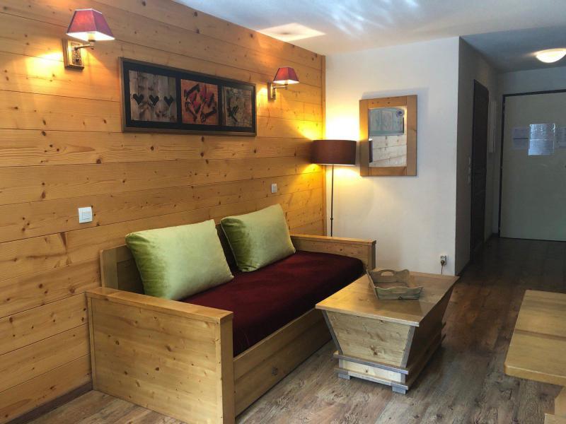 Vacances en montagne Studio coin montagne 4 personnes (221) - Résidence Cybèle - Brides Les Bains