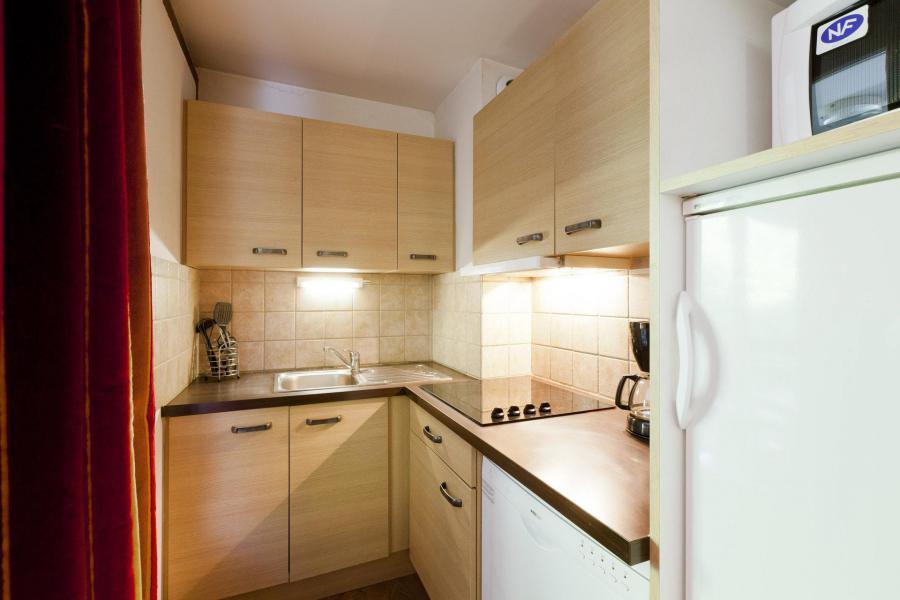 Wakacje w górach Apartament 3 pokojowy z alkową 8 osób (508) - Résidence Cybèle BAT4 - Brides Les Bains - Aneks kuchenny