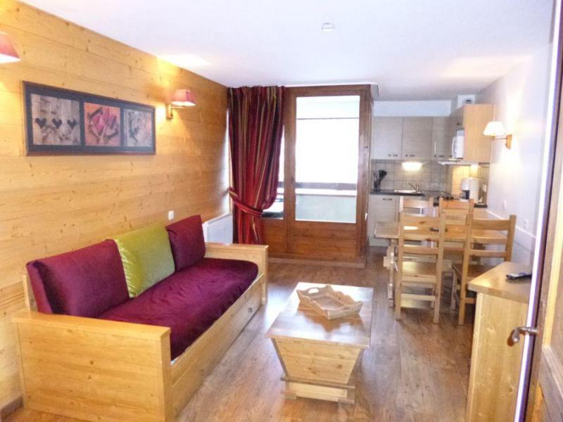 Vacaciones en montaña Estudio -espacio montaña- para 4 personas (232) - Résidence Cybèle BAT4 - Brides Les Bains - Estancia