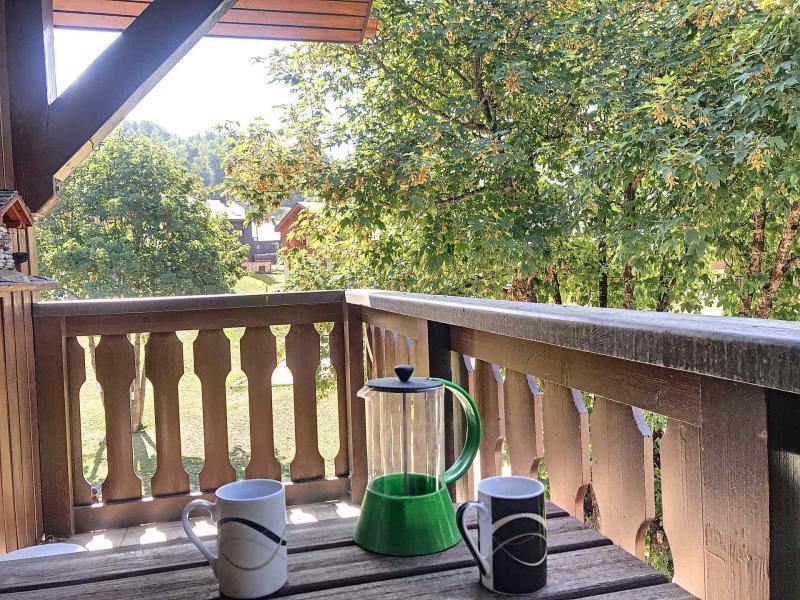 Wakacje w górach Apartament 2 pokojowy 4 osób (B3) - Résidence Dahlia - Saint Martin de Belleville - Na zewnątrz latem