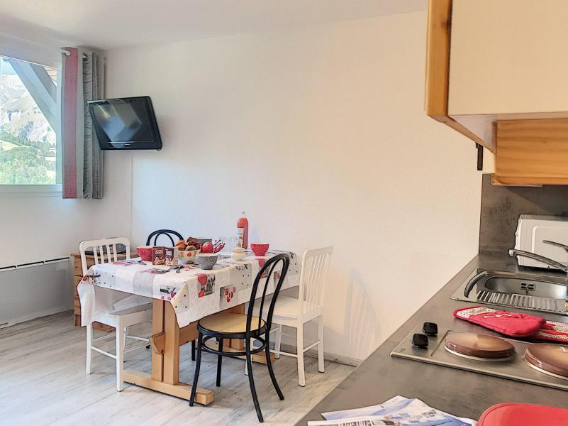 Vacances en montagne Appartement 2 pièces 4 personnes (B1) - Résidence Dahlia - Saint Martin de Belleville - Cuisine