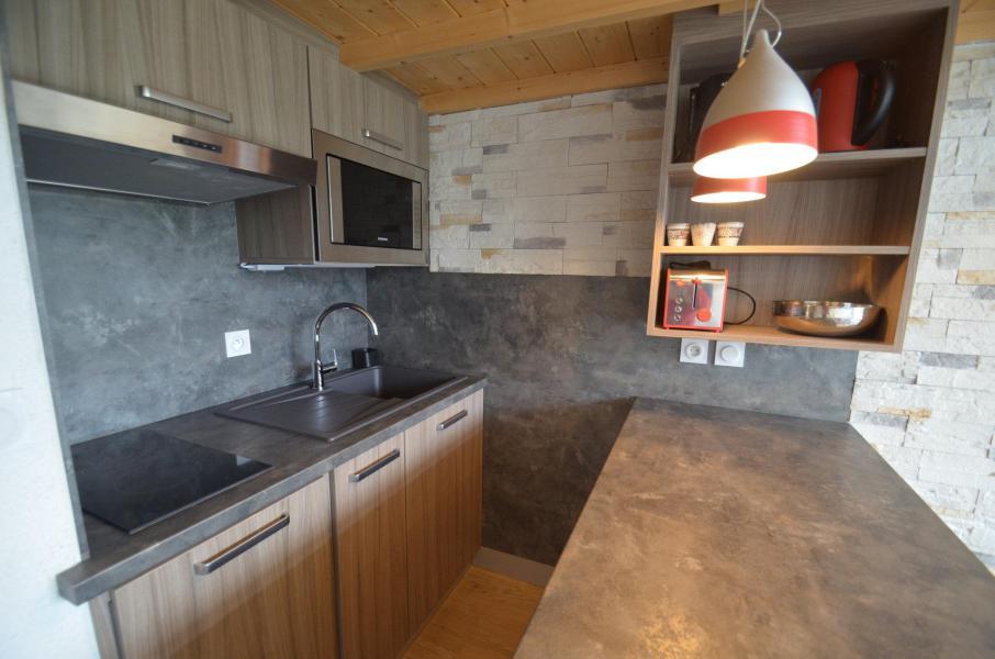 Vacances en montagne Appartement 2 pièces mezzanine 6 personnes (1029) - Résidence Danchet - Les Menuires - Cuisine