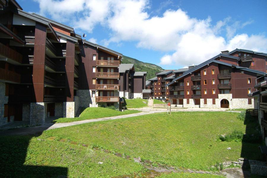 Vacances en montagne Appartement 2 pièces mezzanine 5 personnes (062) - Résidence Dandy - Méribel-Mottaret - Extérieur été