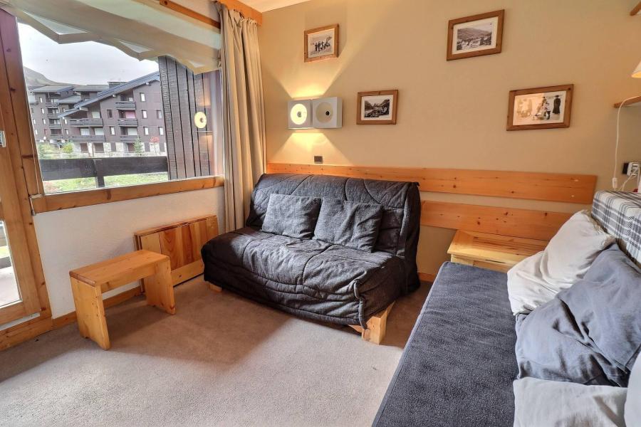 Vacances en montagne Appartement 2 pièces mezzanine 5 personnes (062) - Résidence Dandy - Méribel-Mottaret - Banquette