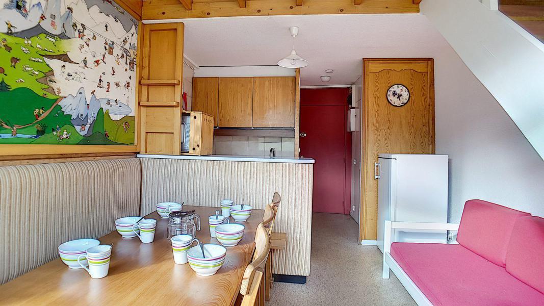Wakacje w górach Apartament duplex 2 pokojowy 6 osób (0107) - Résidence de Caron - Les Menuires