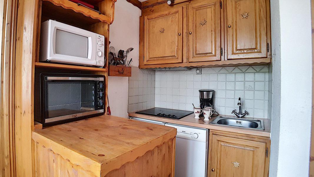 Wakacje w górach Apartament 2 pokojowy 4 osób (322) - Résidence de Caron - Les Menuires - Aneks kuchenny