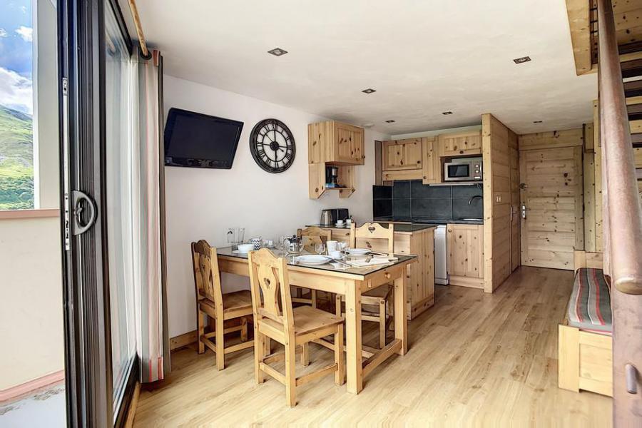 Vacaciones en montaña Apartamento 2 piezas mezzanine para 5 personas (317) - Résidence de Caron - Les Menuires - Kitchenette