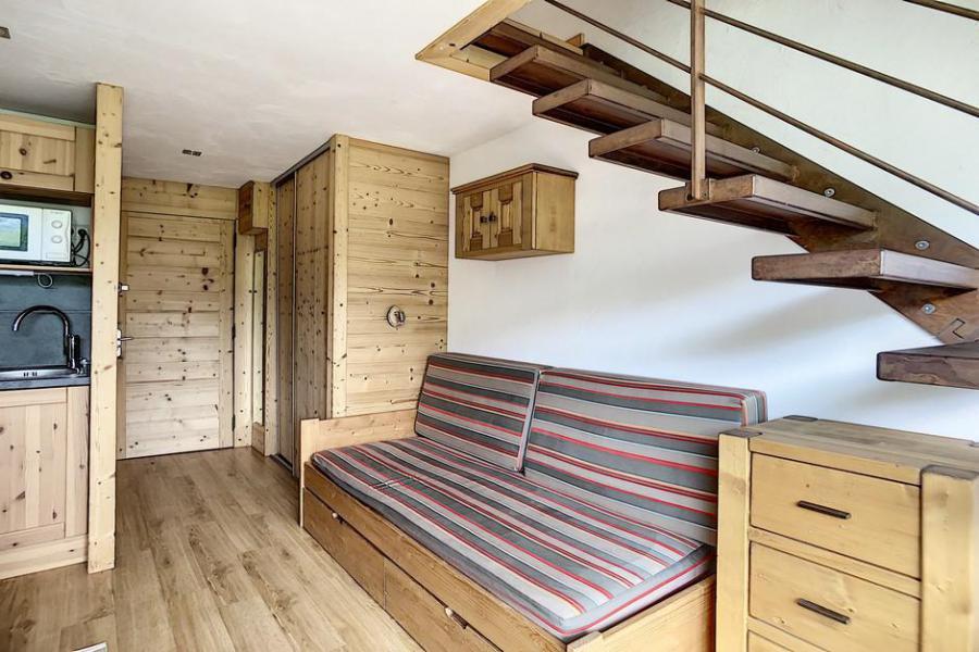 Vacaciones en montaña Apartamento 2 piezas mezzanine para 5 personas (317) - Résidence de Caron - Les Menuires - Mesa