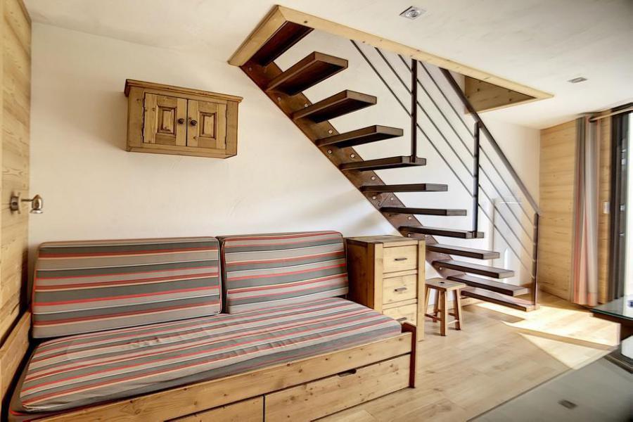 Vacaciones en montaña Apartamento 2 piezas mezzanine para 5 personas (317) - Résidence de Caron - Les Menuires - Sofá
