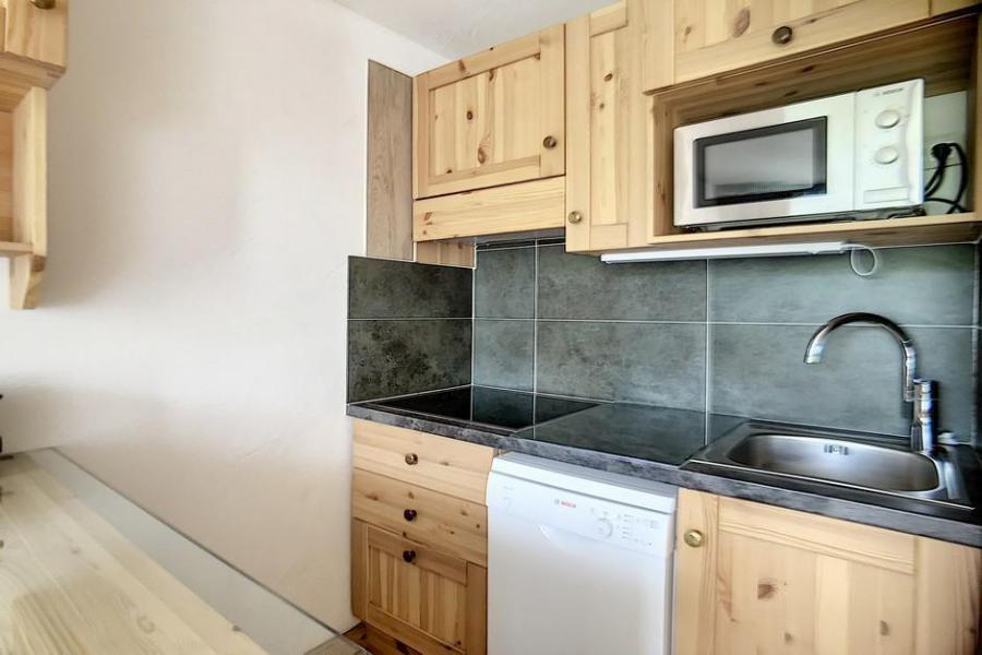 Vacaciones en montaña Apartamento 2 piezas mezzanine para 5 personas (317) - Résidence de Caron - Les Menuires - Ventana
