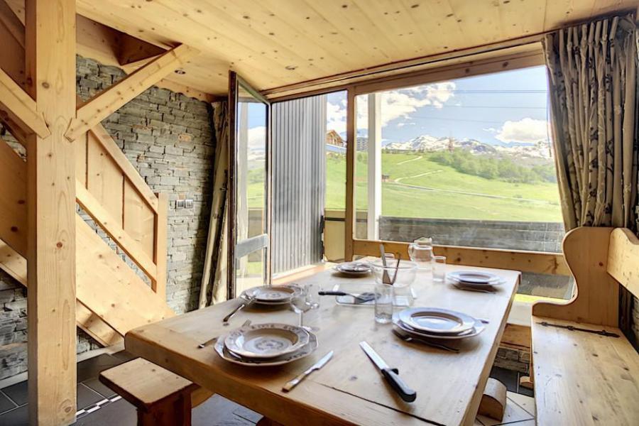 Vacaciones en montaña Apartamento 2 piezas mezzanine para 6 personas (03) - Résidence de Caron - Les Menuires - Kitchenette