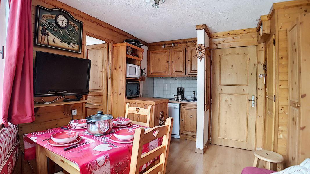 Vacaciones en montaña Apartamento 2 piezas para 4 personas (322) - Résidence de Caron - Les Menuires - Kitchenette
