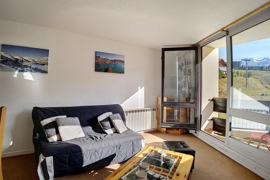 Vacaciones en montaña Apartamento 2 piezas para 6 personas (312) - Résidence de Caron - Les Menuires - Camas superpuestas