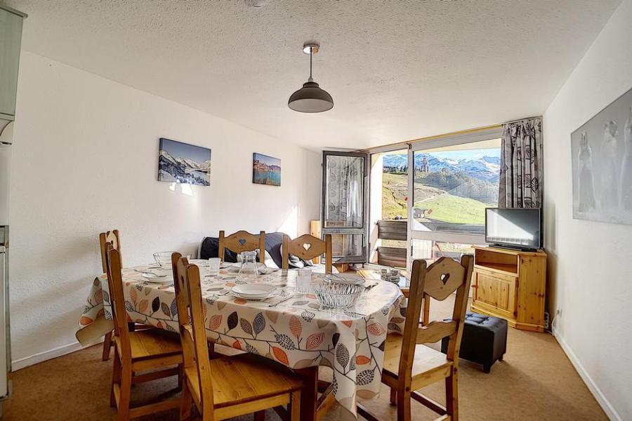 Vacaciones en montaña Apartamento 2 piezas para 6 personas (312) - Résidence de Caron - Les Menuires - Ventana