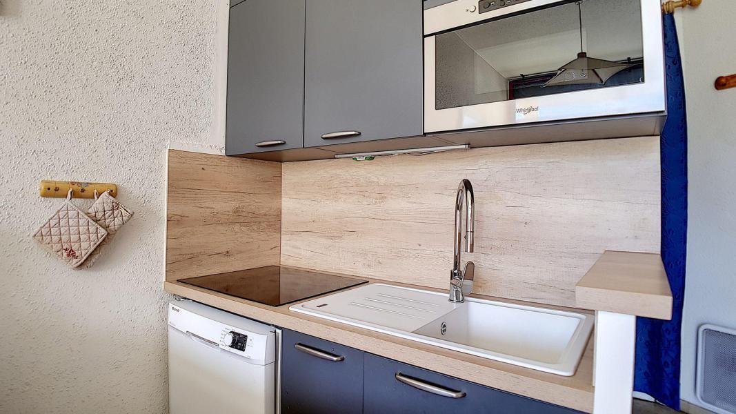 Vacaciones en montaña Apartamento 3 piezas cabina para 8 personas (702) - Résidence de Caron - Les Menuires - Camas superpuestas