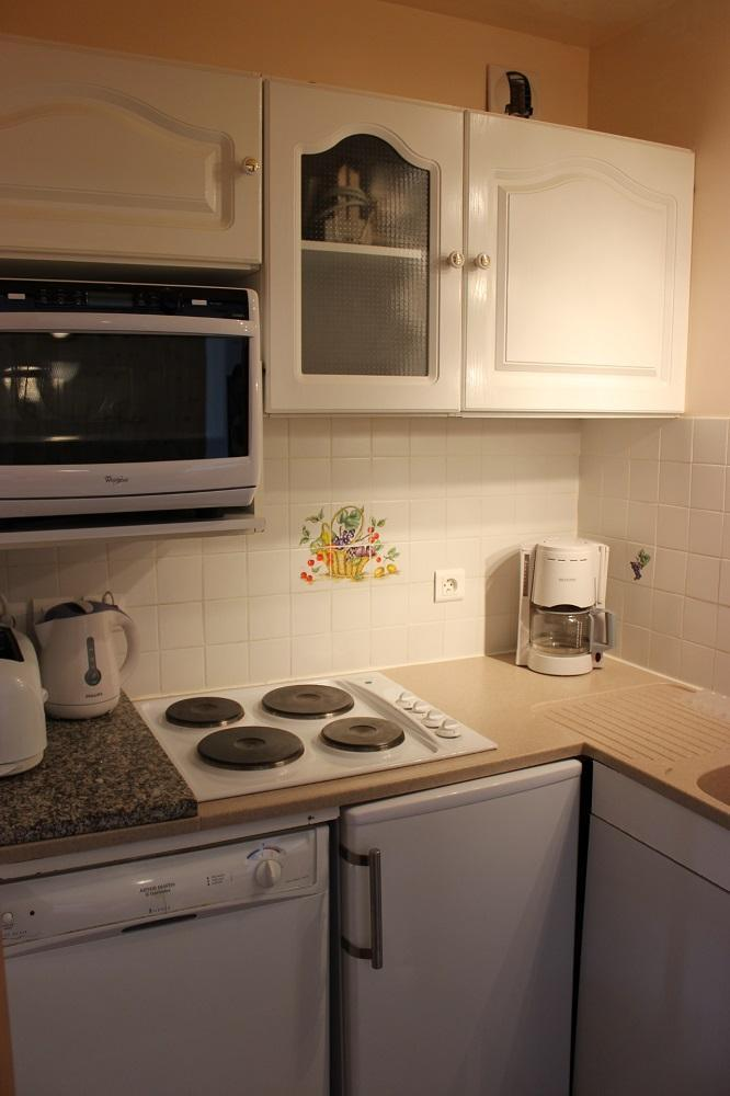 Vakantie in de bergen Appartement 2 kamers 4 personen (611) - Résidence de l'Olympic - Val Thorens - Keukenblok