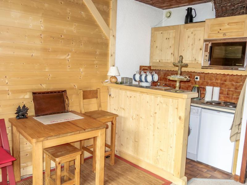 Vacaciones en montaña Apartamento 1 piezas para 2 personas (1) - Résidence de Pierre Plate - Saint Gervais