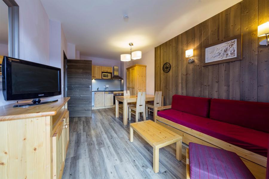 Urlaub in den Bergen Résidence Deneb - Risoul - Wohnzimmer