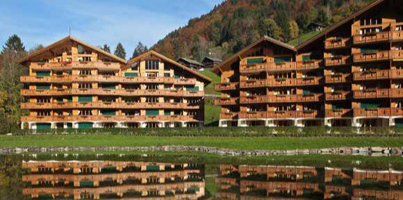Vacances en montagne Résidence Dents Blanches - Dents du Midi - Champéry - Extérieur été