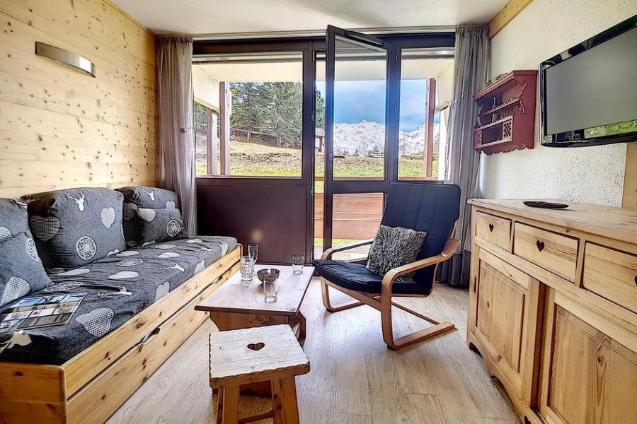Vacaciones en montaña Apartamento 2 piezas cabina para 6 personas (AL0R04) - Résidence des Alpages - Les Menuires - Banqueta