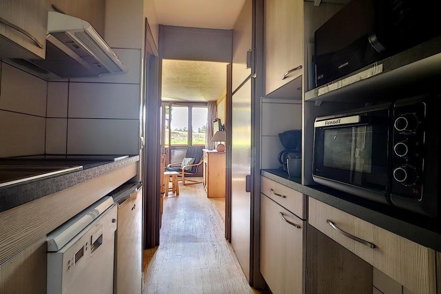 Vacaciones en montaña Apartamento 2 piezas cabina para 6 personas (AL0R04) - Résidence des Alpages - Les Menuires - Mesa