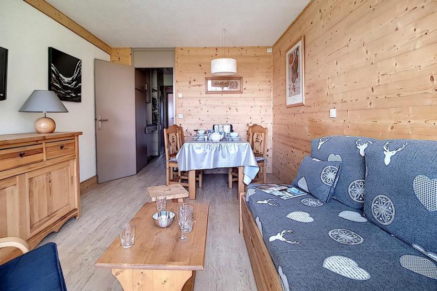 Vacaciones en montaña Apartamento 2 piezas cabina para 6 personas (AL0R04) - Résidence des Alpages - Les Menuires - TV