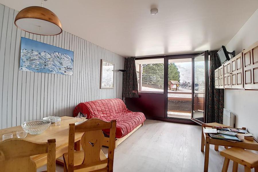 Vacaciones en montaña Apartamento 2 piezas para 5 personas (AL0104) - Résidence des Alpages - Les Menuires - Comedor
