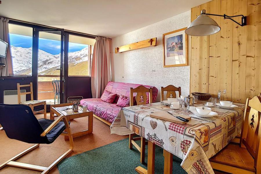 Vacaciones en montaña Apartamento 2 piezas para 5 personas (AL0703) - Résidence des Alpages - Les Menuires - Sofá-cama