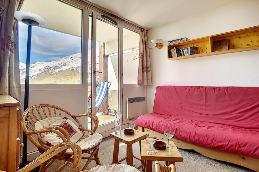 Vacaciones en montaña Apartamento 2 piezas para 6 personas (AL0404) - Résidence des Alpages - Les Menuires - Comedor