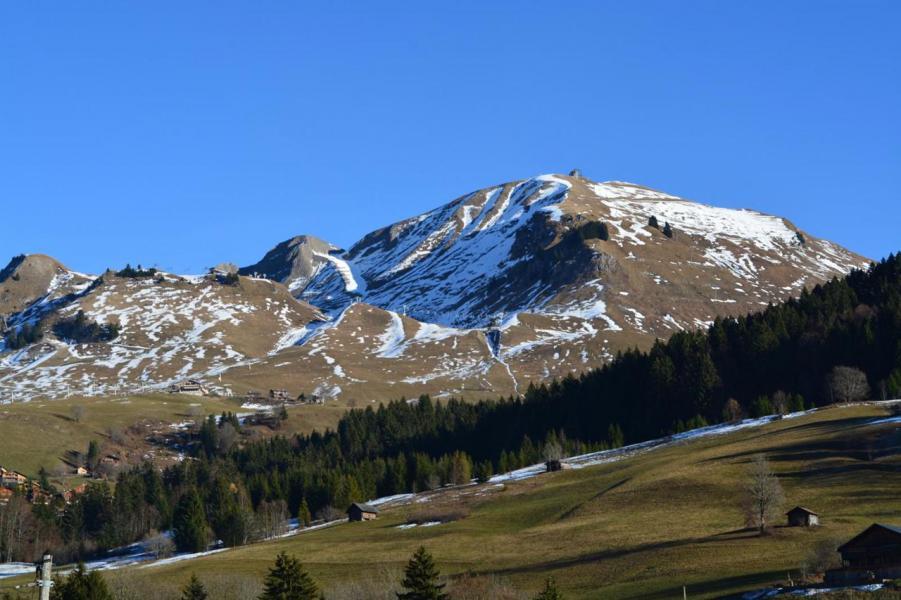 Wakacje w górach Studio z alkową 4 osoby (10) - Résidence des Cascades - Le Grand Bornand