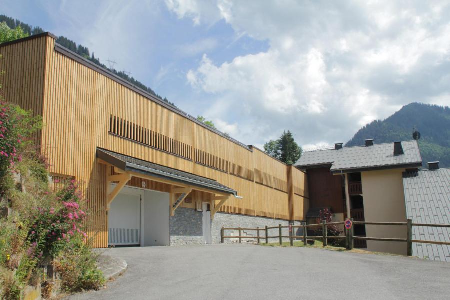 Location au ski Résidence des Gentianes - Châtel - Extérieur été
