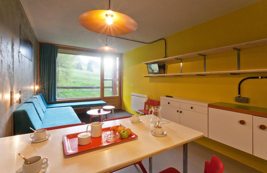 Vakantie in de bergen Studio bergnis 5 personen (0966) - Résidence des Lauzières - Les Arcs