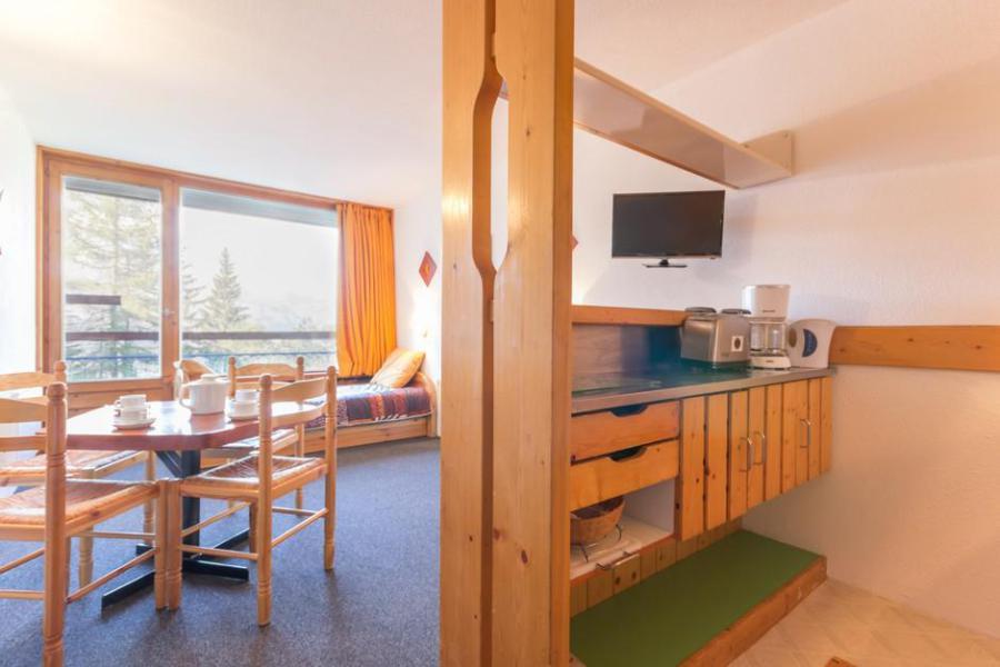 Vakantie in de bergen Studio bergnis 5 personen (1169) - Résidence des Lauzières - Les Arcs