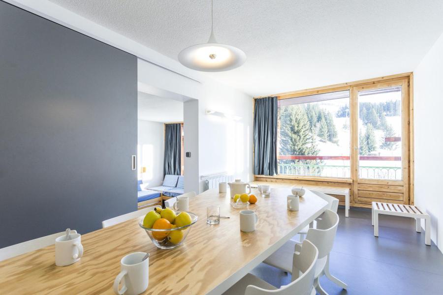 Vakantie in de bergen Appartement 3 kamers 7 personen (1578) - Résidence des Lauzières - Les Arcs - Woonkamer