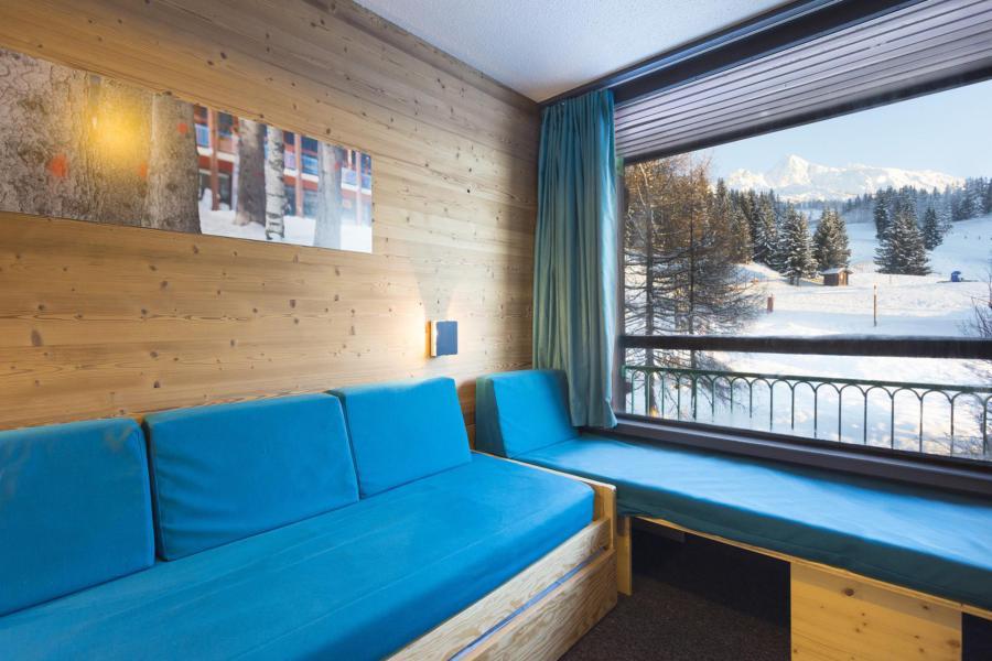 Vakantie in de bergen Résidence des Lauzières - Les Arcs - Uitschuifbedden