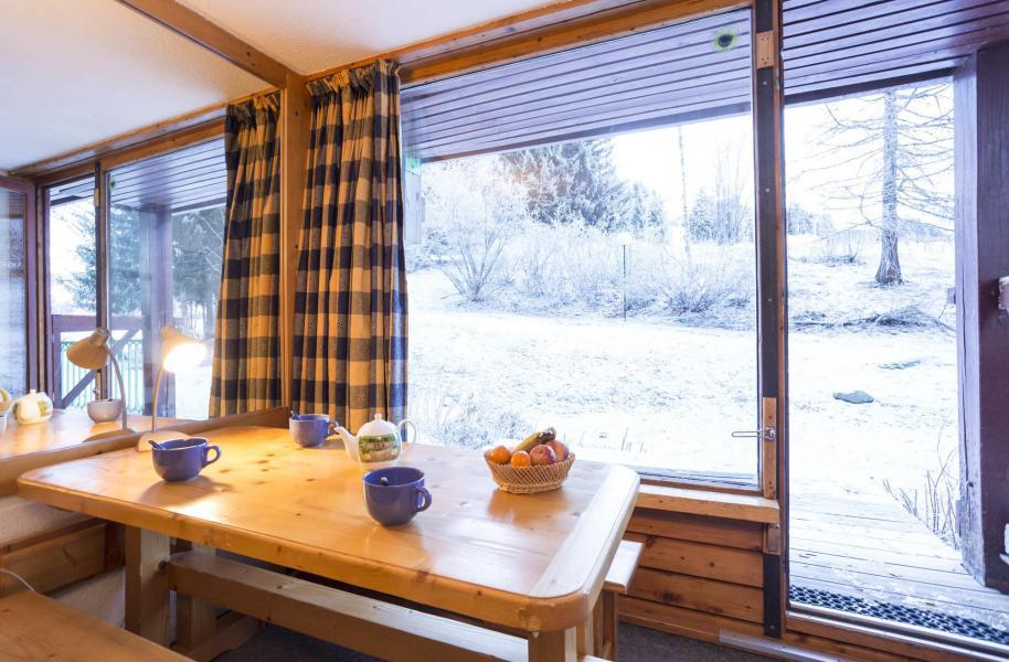 Vakantie in de bergen Studio bergnis 5 personen (0864) - Résidence des Lauzières - Les Arcs - Woonkamer