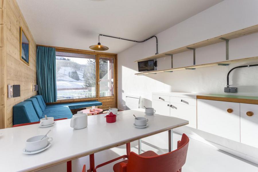 Vakantie in de bergen Studio bergnis 5 personen (0950) - Résidence des Lauzières - Les Arcs - Keukenblok
