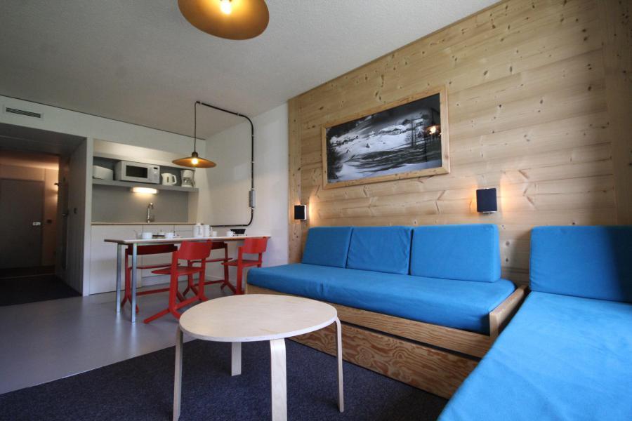 Vakantie in de bergen Studio bergnis 5 personen (0950) - Résidence des Lauzières - Les Arcs - Woonkamer