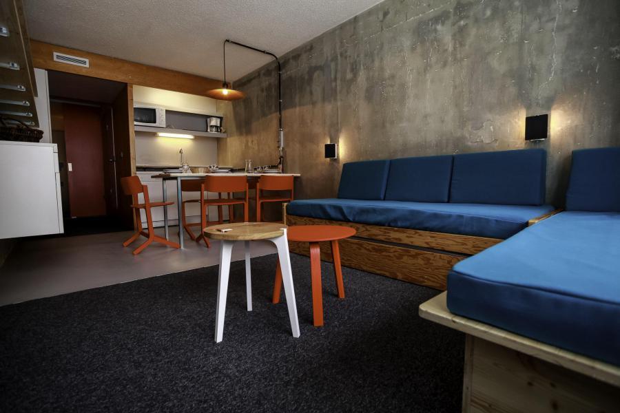 Vakantie in de bergen Studio bergnis 5 personen (0966) - Résidence des Lauzières - Les Arcs - Pull-out sofa