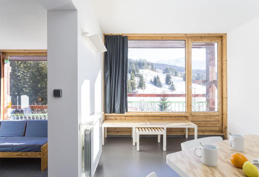 Vakantie in de bergen Résidence des Lauzières - Les Arcs - Woonkamer