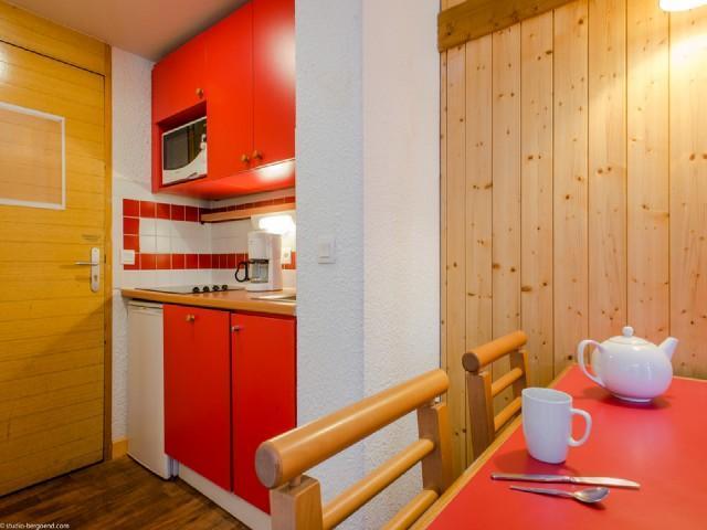 Urlaub in den Bergen Studio für 4 Personen (743) - Résidence Digitale - La Plagne - Unterkunft