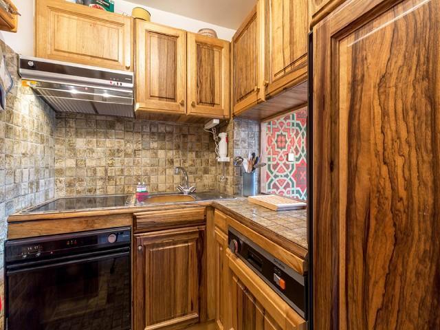Urlaub in den Bergen 2-Zimmer-Appartment für 3 Personen (406B) - Résidence Domaine du Jardin Alpin - Courchevel - Unterkunft