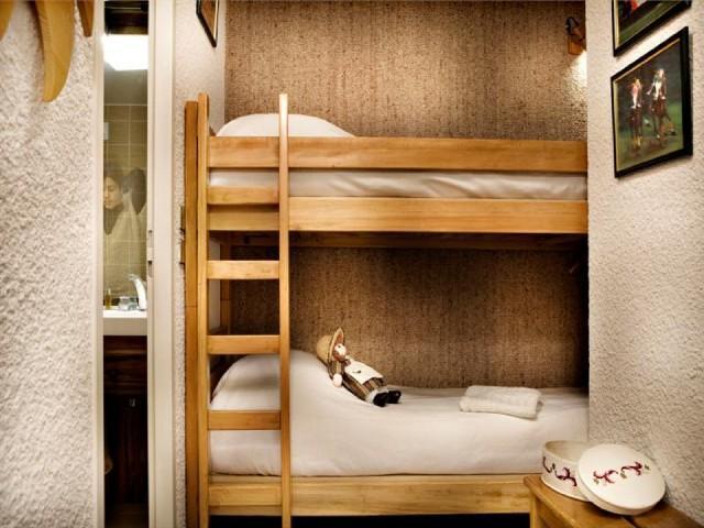 Urlaub in den Bergen 2-Zimmer-Berghütte für 6 Personen (302A) - Résidence Domaine du Jardin Alpin - Courchevel - Unterkunft