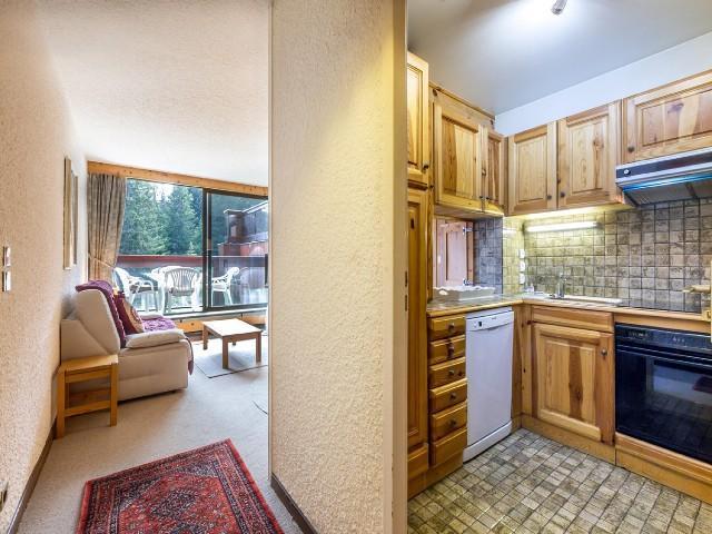 Urlaub in den Bergen 2-Zimmer-Appartment für 4 Personen (101B) - Résidence Domaine du Jardin Alpin - Courchevel