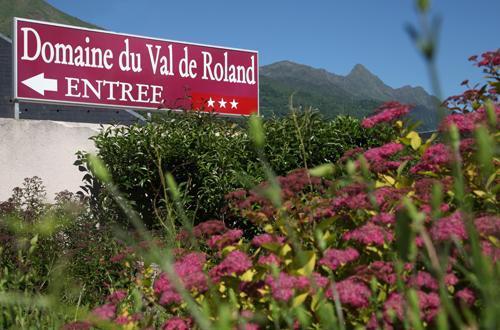 Location au ski Residence Domaine Du Val De Roland - Luz Ardiden - Extérieur été