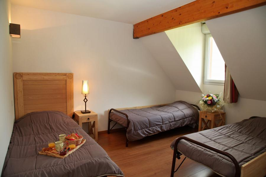 Holiday in mountain resort 3 room duplex apartment cabin 8 people - Résidence Domaine du Val de Roland - Luz Ardiden - Single bed