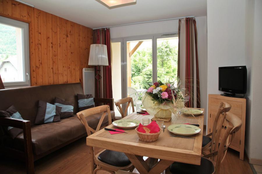 Urlaub in den Bergen Résidence Domaine du Val de Roland - Luz Ardiden - Wohnzimmer