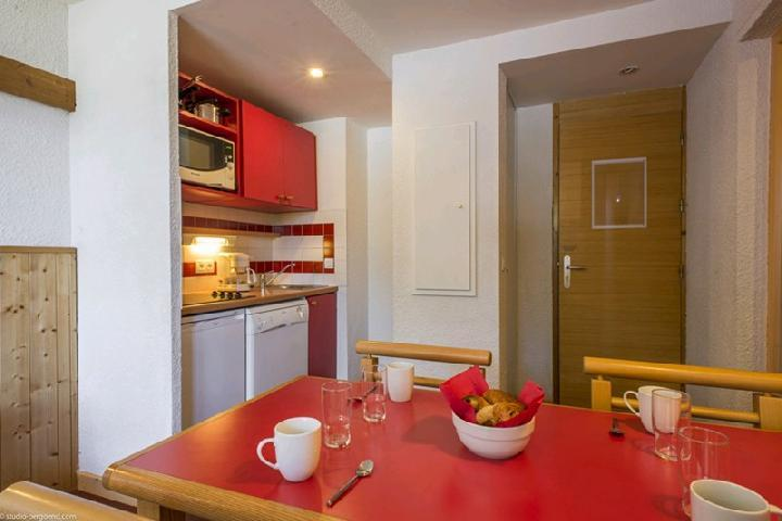 Holiday in mountain resort 2 room apartment 5 people (862) - Résidence Doronic - La Plagne