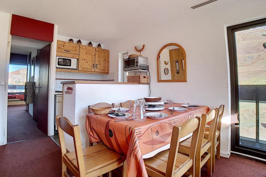 Vakantie in de bergen Appartement 2 kamers 6 personen (905) - Résidence Dorons - Les Menuires