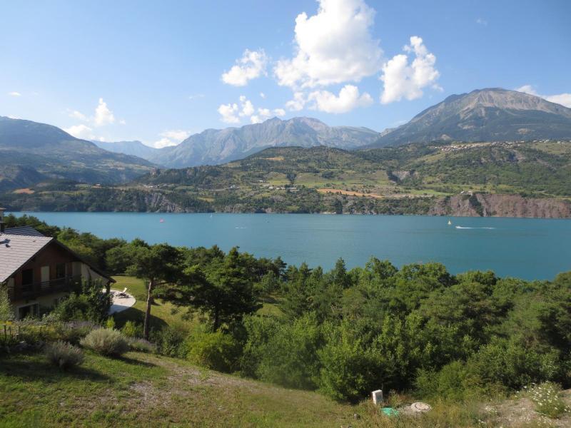 Vacances en montagne Résidence du Lac - Réallon - Extérieur été